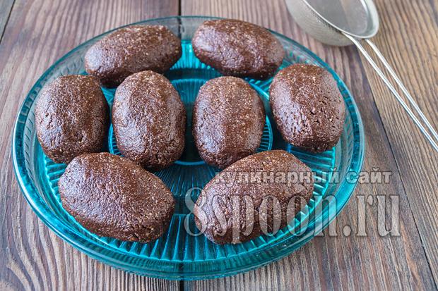 Сладкая картошка из печенья с сгущенкой