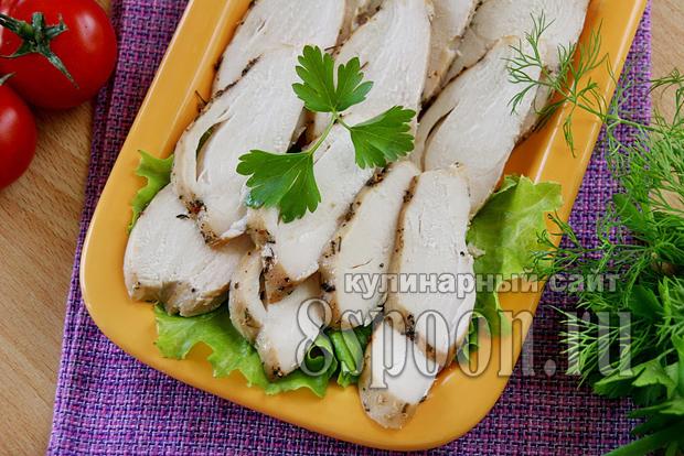 Куриная грудка в духовке в рукаве
