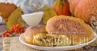 Жареные пирожки с капустой на сковороде_07