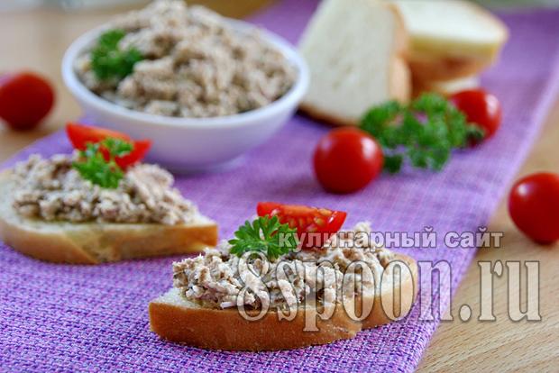 Бутерброды с сардиной, яйцом и плавленым сыром_4