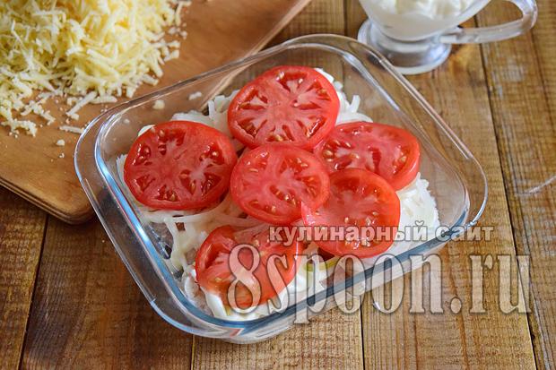 Филе трески в духовке рецепт с фото _3