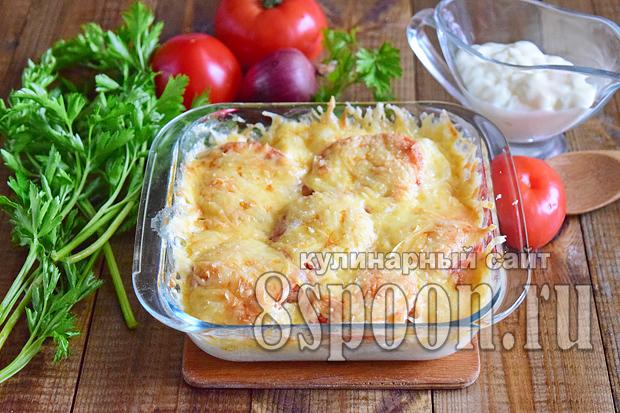 Филе трески в духовке рецепт с фото _6