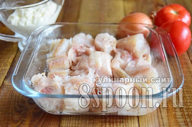 Филе трески в духовке рецепт с фото _8
