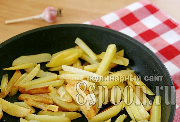 Как жарить картошку на сковороде _9