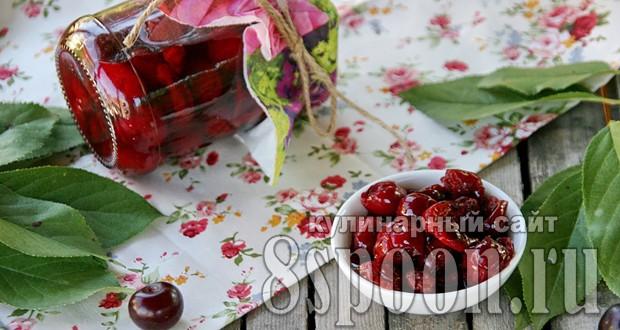 Как сделать вишневое варенье густое