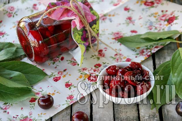 Варенье из вишни без косточек фото_8