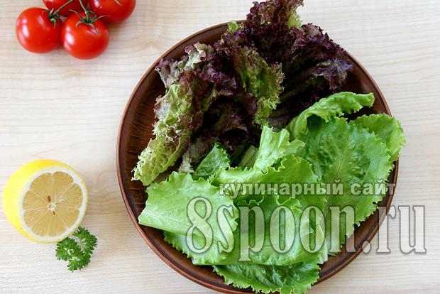 Салат с консервированным тунцом с сухариками рецепт