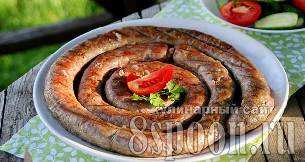 колбаса куриная домашняя рецепт в кишке в духовке