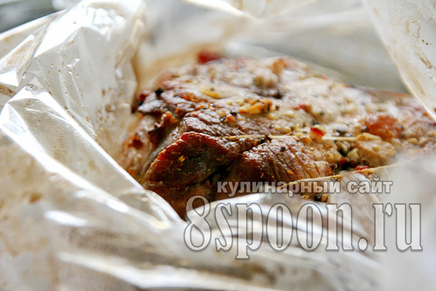 Мясо в пиве в духовке_12