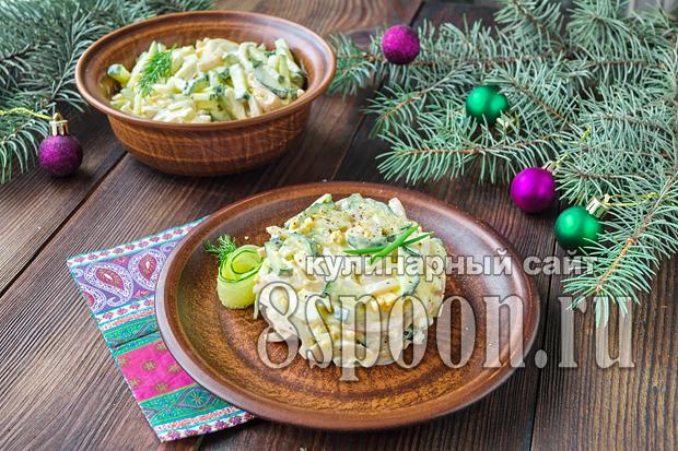 Вкусные рецепты салатов с фото