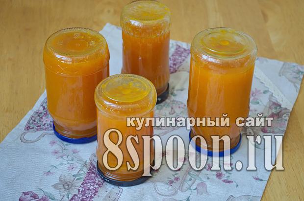 Абрикосовое варенье с апельсином фото_11