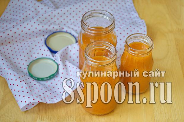 Абрикосы с сахаром на зиму фото_06