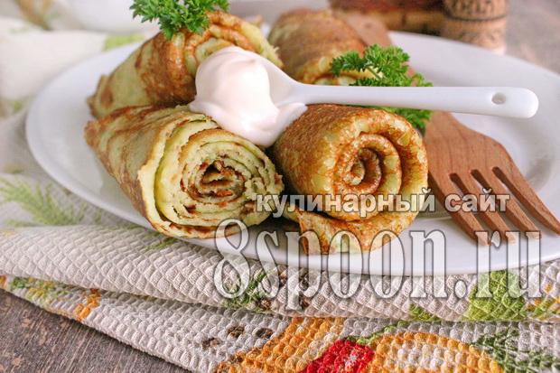Картофельные блины рецепт с фото _8