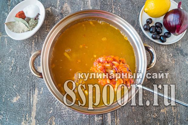 как приготовить солянку пошаговый рецепт с фото