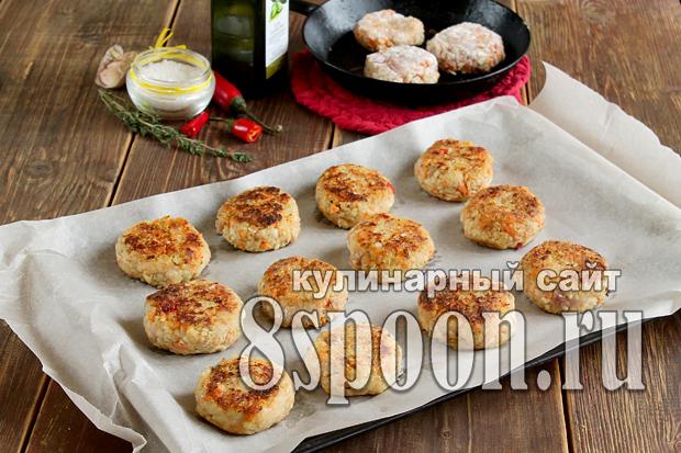 котлеты в духовке пошаговый рецепт с фото _9
