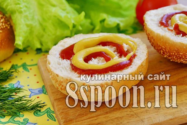 Котлеты для гамбургера из говядины рецепт 131