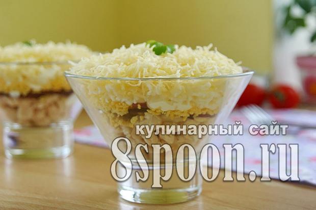 Салат из куриной грудки простой и вкусный _01