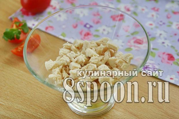 Салат из куриной грудки простой и вкусный _08