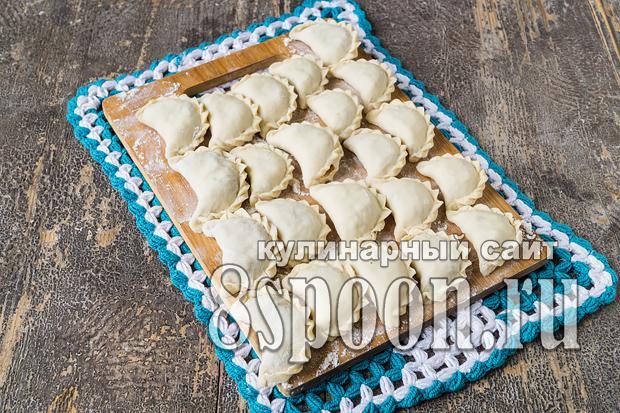 Вареники с капустой: пошаговый рецепт с фото