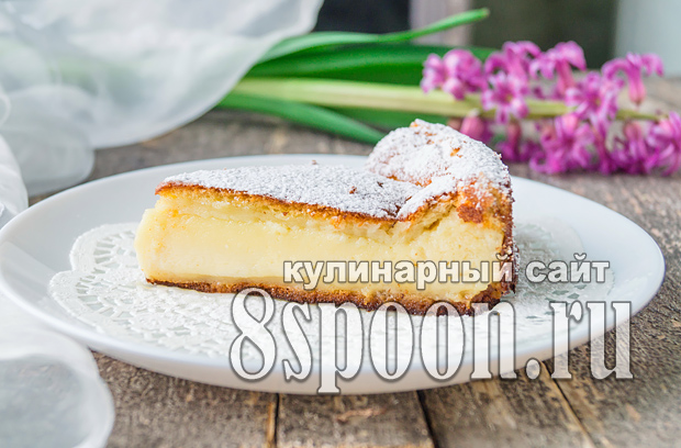 Умное пирожное - кулинарный рецепт
