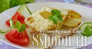Мясо по-французски с картошкой в духовке фото_06