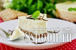 Чизкейк из творога рецепт с фото _04