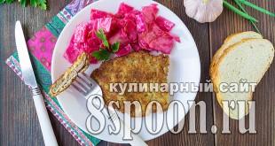 Шницель из свинины на сковороде фото_08