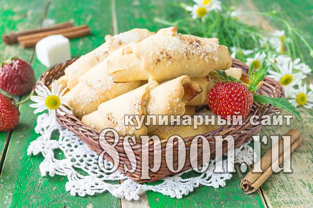 рогалики с повидлом рецепт с фото 2