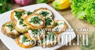 Как жарить кабачки на сковороде с чесноком и майонезом