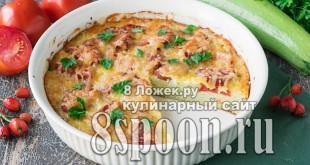 Пицца из кабачков в духовке  фото