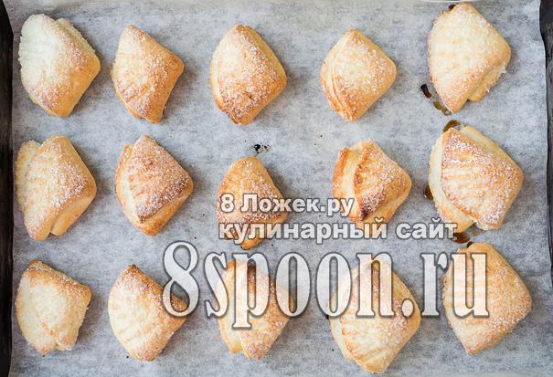 печенье Гусиные Лапки из творога фото