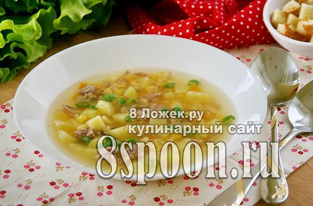 Гороховый суп со свининой фото_2