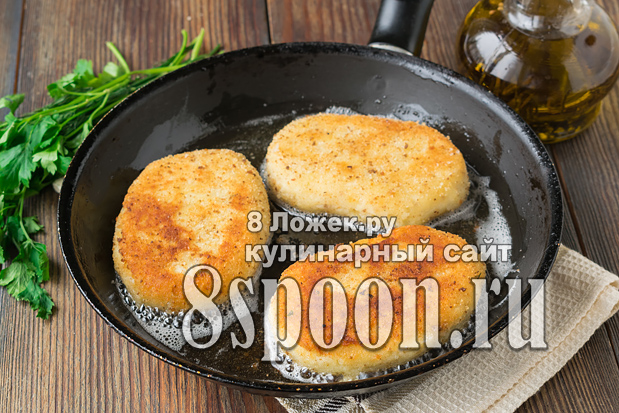 Картофельные котлеты из пюре рецепт с фото