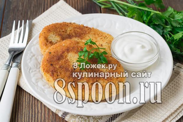 картофельные котлеты из вчерашнего пюре рецепт с фото