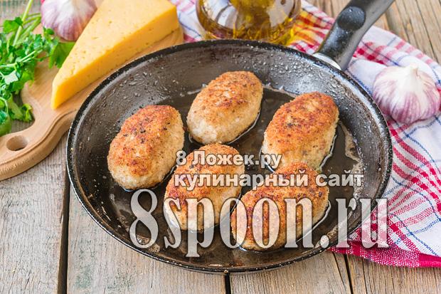 Котлеты с сыром внутри