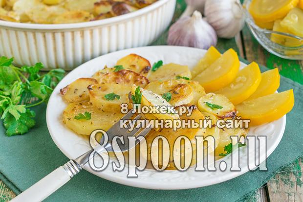 Картошка в духовке с майонезом фото 4
