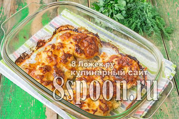 Отбивные с ананасами и сыром в духовке фото_9