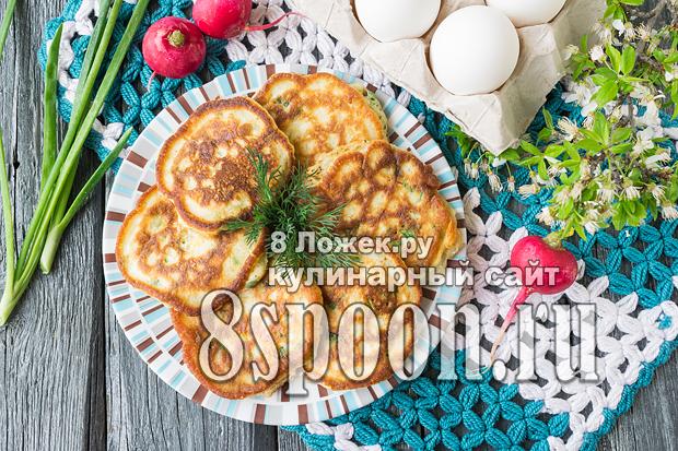 Ленивые пирожки с луком и яйцом  фото_02