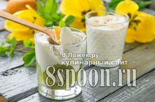 Творожный десерт с желатином и фруктами фото_05
