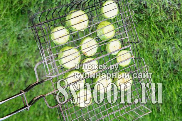 Кабачки на мангале рецепт с фото_3