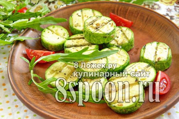 Кабачки на мангале рецепт с фото_6