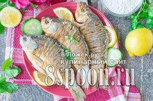 Караси жареные на сковороде фото_05