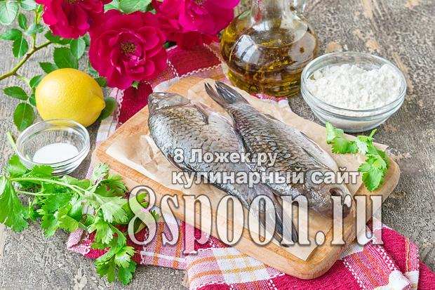 Караси жареные на сковороде фото_06