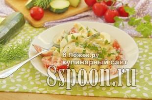 Салат из жареных кабачков фото_01