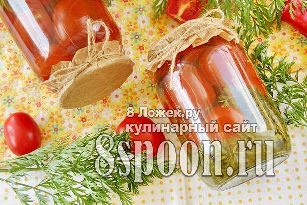 помидоры с морковной ботвой 3
