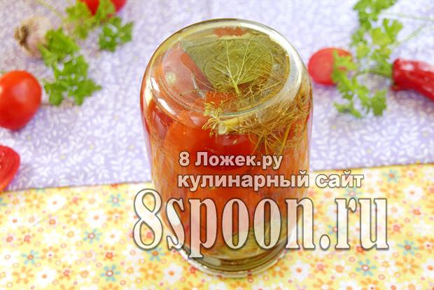 сладкие помидоры на зиму фото 8