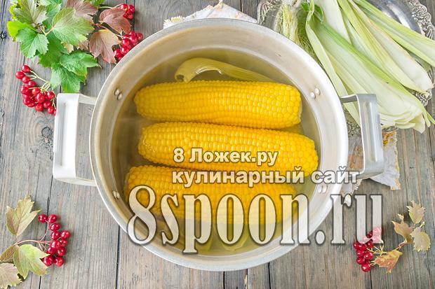 Как варить кукурузу в початках фото_8