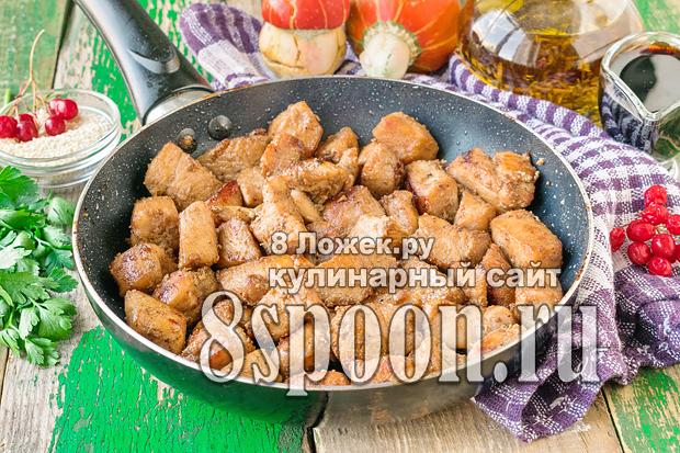 Курица в соевом соусе на сковороде фото_01