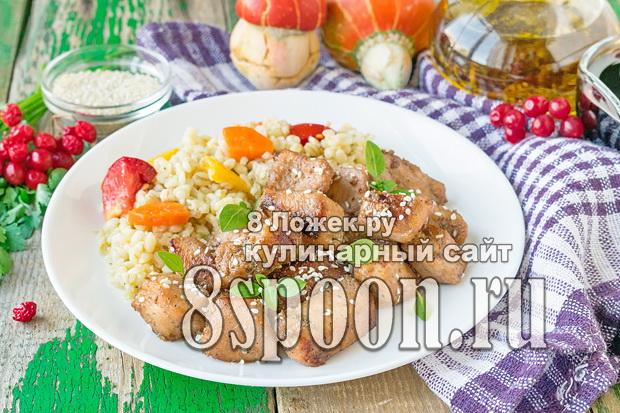 Курица в соевом соусе на сковороде фото, фото рецепт Курицы в соевом соусе на сковороде