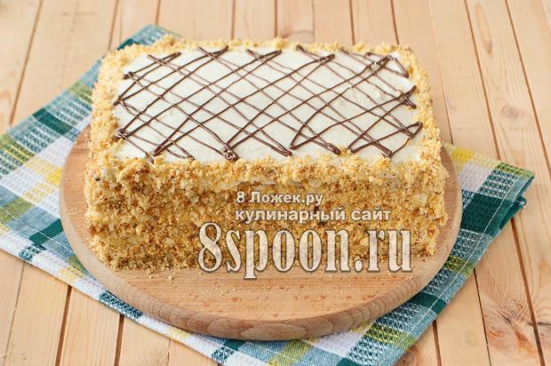 медовый торт в домашних условиях фото_13